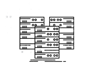 Diagram of servers